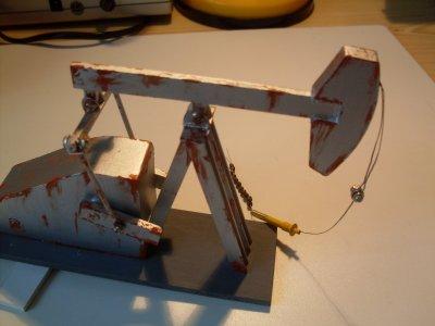 Diorama - Californie - Pompe à pétrole