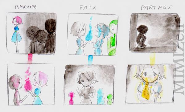 ☺ Amour ♥ Paix ☼ Partage ☻