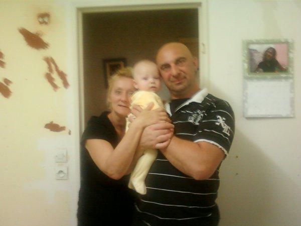 tim avec mamie vero et papy guy