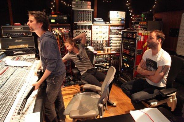 New album recording.