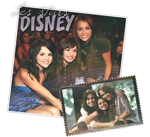 Les Stars Disney! par Manon