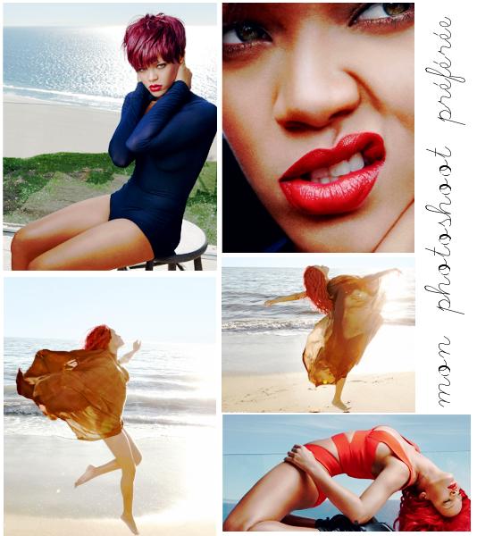 Le nouveau photoshoot de Rihanna pour vogue. Par Lauranne