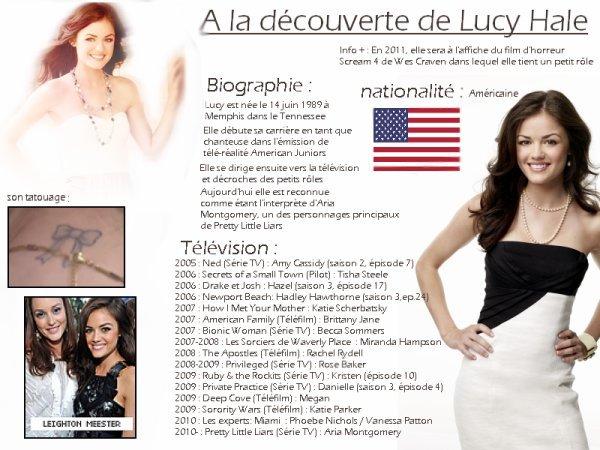 Zoom sur Lucy Hale♥ par laëtitia