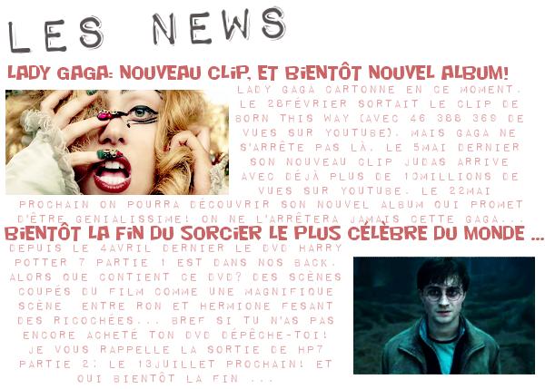 Page d'actualité Par Lauranne