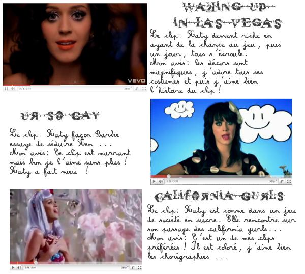 Visite guidée sur les Clip de Katy Perry! par Lauranne
