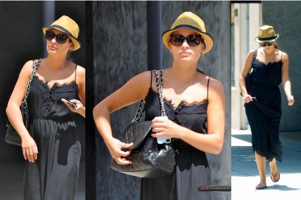 13 Août : Lea se balade dans le quartier de Beverly Hills.
