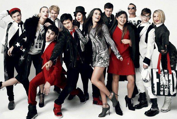 """24 Août : Vidéo du cast pour la """"Fashion Night Out"""" + Photo du shoot pour le Vogue du mois de Septembre."""