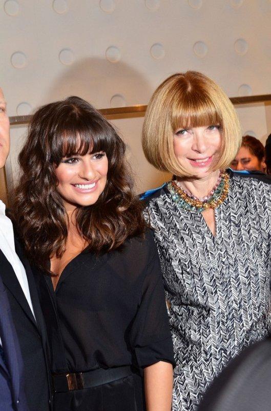 """08 Septembre : Lea était présente à la """"Fashion Night"""" organisée par VOGUE hier soir à New-York. Elle est sublime mais un peu transparente la robe! Qu'en pensez-vous ?"""