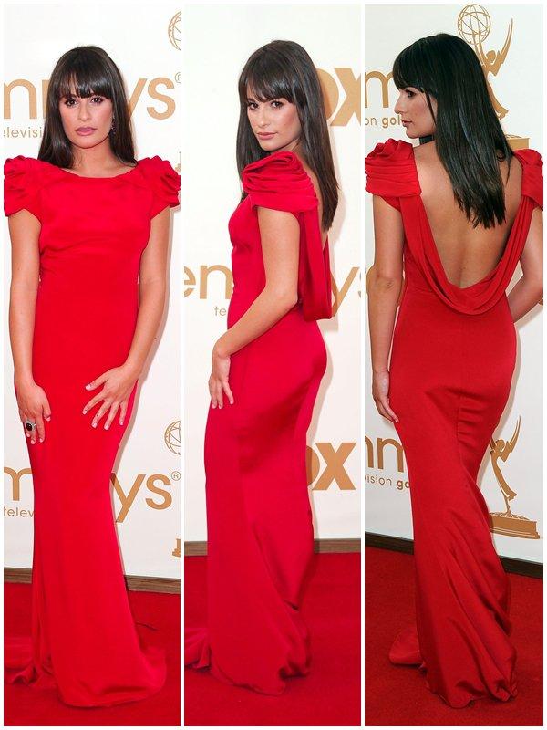 18 Septembre : Lea à la 63ème cérémonie des Emmy Awards hier. Magnifique. ♥ Qu'en pensez-vous ?