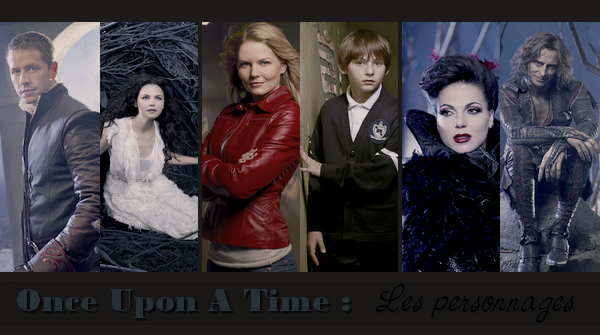 Once Upon A Time ll  Les Personnages _