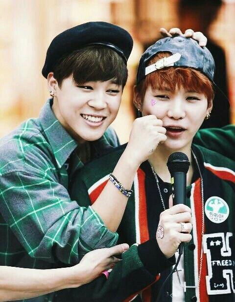 Yoongi et Jimin