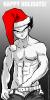 Vegeta chapeau noel ベジータクリスマスの帽子 Bejītakurisumasu no bōshi