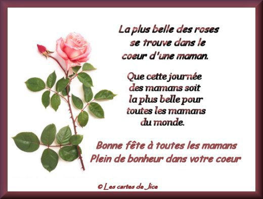 Petit Poème Pour Ma Maman Que Jaime Blog De