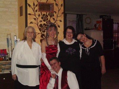 une parti de la famille