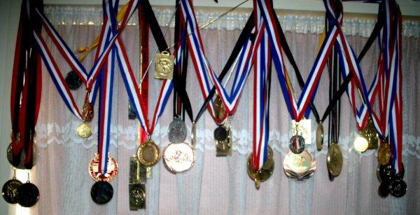 Mes médailles