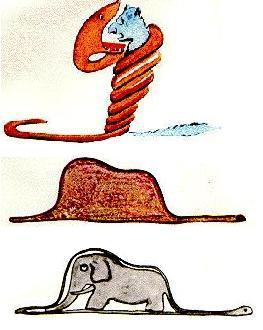 """Résultat de recherche d'images pour """"le petit prince serpent boa"""""""