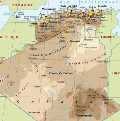 Carte Algerie Tizi Ouzou.Carte D Algerie Wilaya Tizi Ouzou W15dz