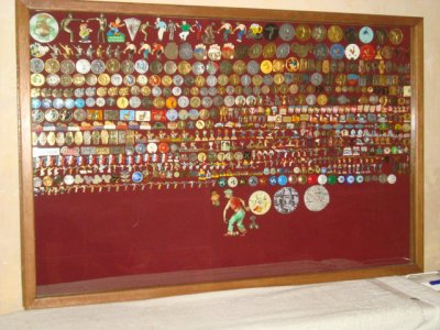 ma collection pin's  petanque