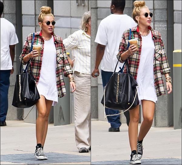 27 Juillet 2012 : Miley a été vue se promenant avec son ami Vijat Mohindra à Philadelphie.