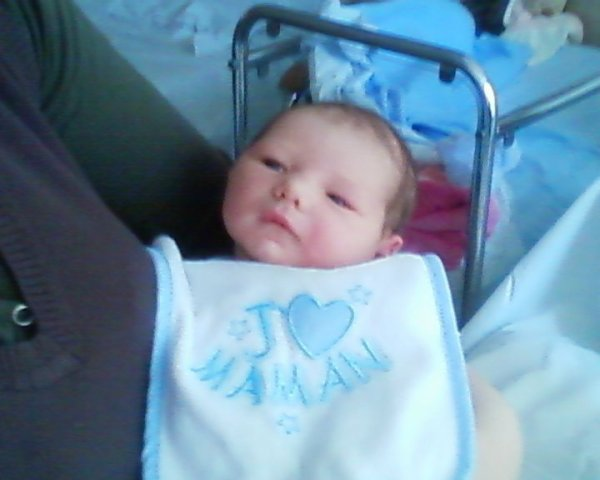 ma fille a la maternite