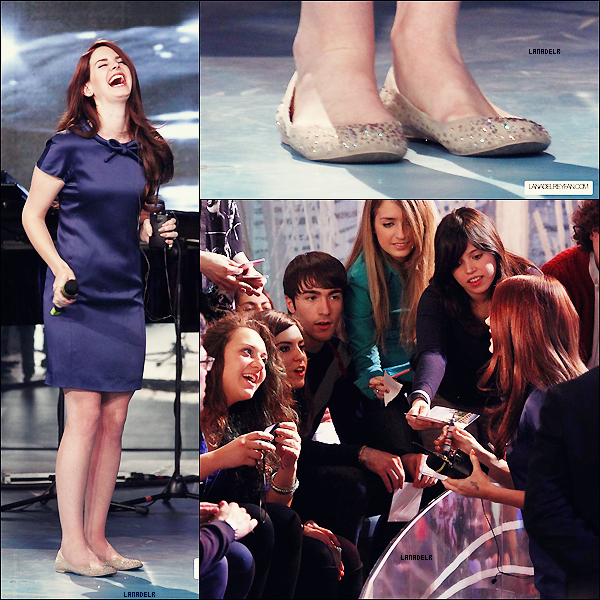 14/04/2012 ▪  Lana en Italie cette fois-ci dans l'émission « Le invasioni barbariche »  + Lana Del Rey se produira à Tokyo, au Japon le 28 mai, chanceux ses japonnais !