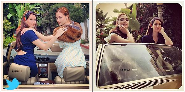 Des nouvellesphotosde Lana sont apparus + 2 photos d'elle et Jamie King via twitter.  + Lana se produira en Suisse le 04 Juillet 2012 ! A quand en France ? :D