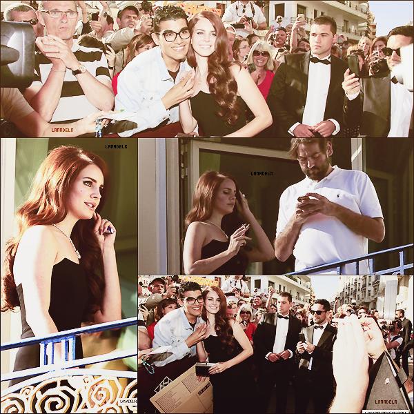 16/05/2012 ▪ Lana aperçut en France au Festival de Cannes :