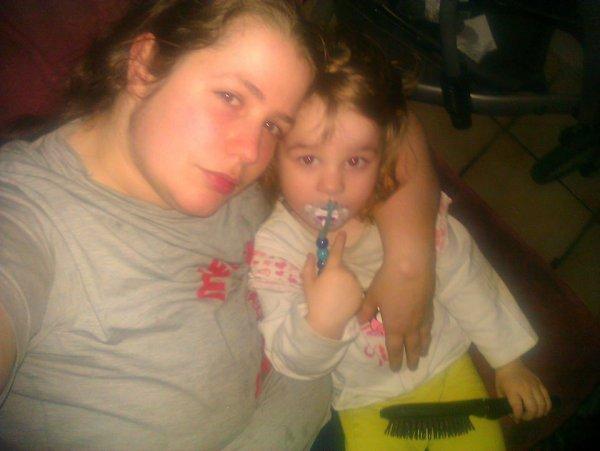 nouvelle photo de moi et ma fille