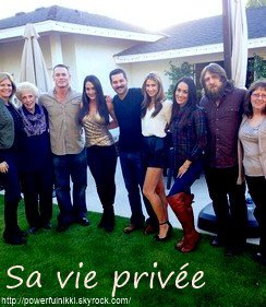 ♥ Sa vie privée ♥ The beautiful Nicole Garcia ♥