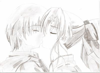 Blog de moitoikeur page 3 mes dessin - Dessin manga couple ...