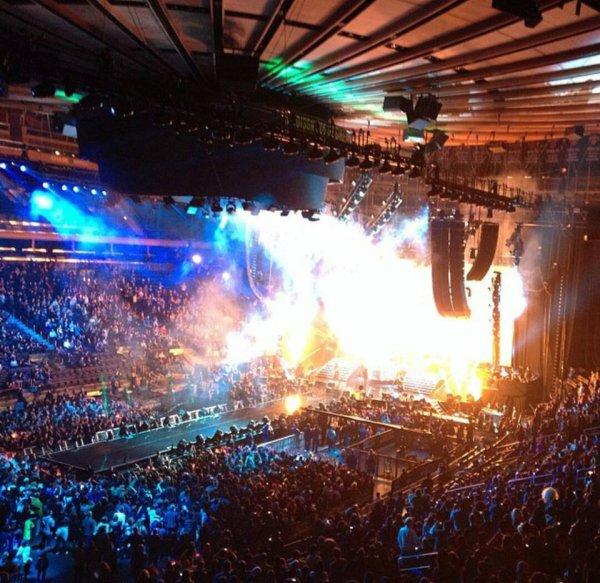 X Japan au Madison Square Garden