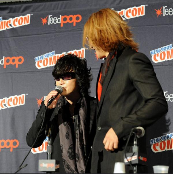 X Japan au Comics con' 2015