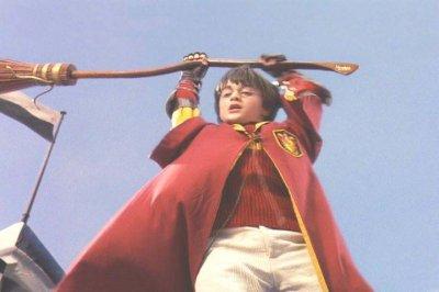 Tournage Quidditch - Harry Potter à l'école des sorciers