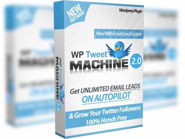 WP Tweet Machine 2 review and Exclusive $26,400 Bonus