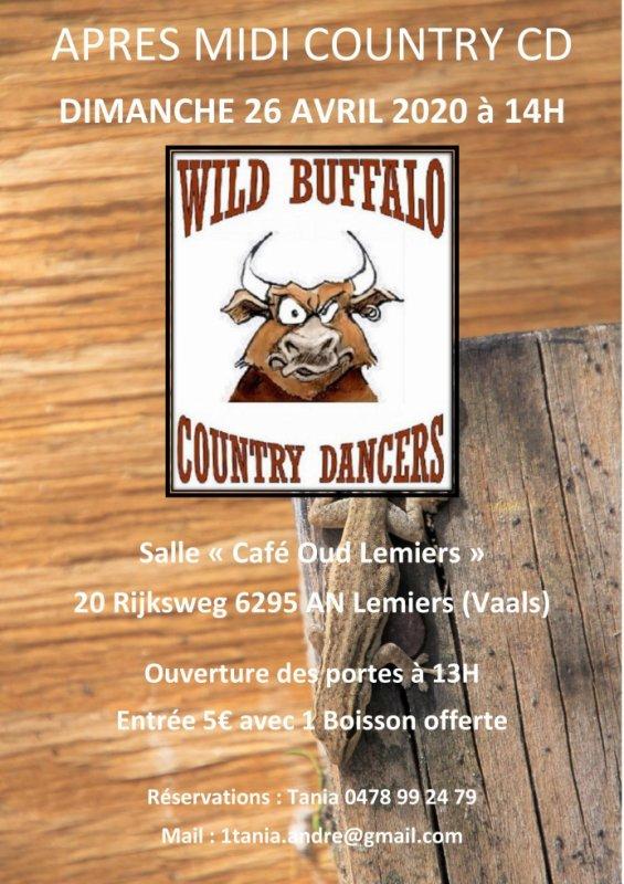 Prochaine manifestation des Wild Buffalo !