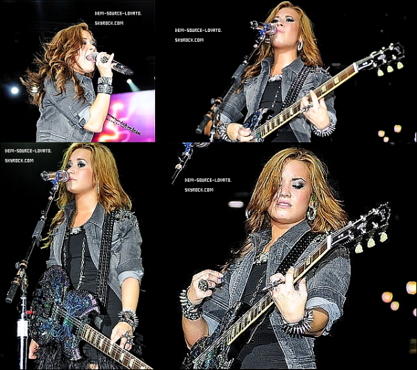 16 octobre 2010 :  Demi performe à San Domingo ( Republique Dominicaine )