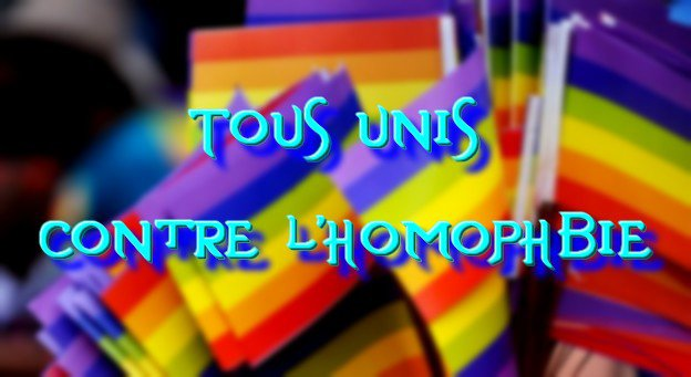 Tous unis contre l'homophobie !!