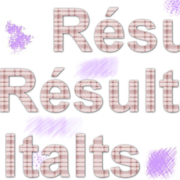 - Résultats! -