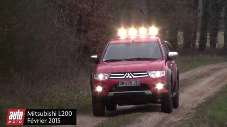 Le Mitsubishi L200 APPALACHES
