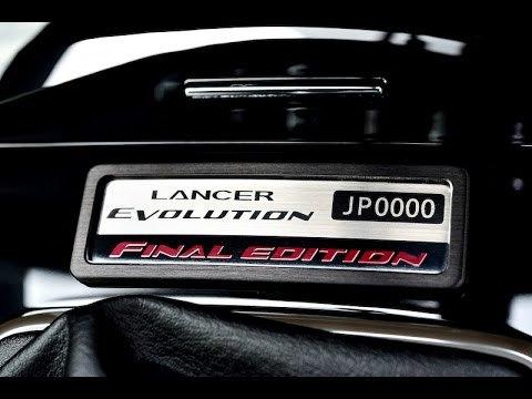 Lancer Evolution X FINAL EDITION