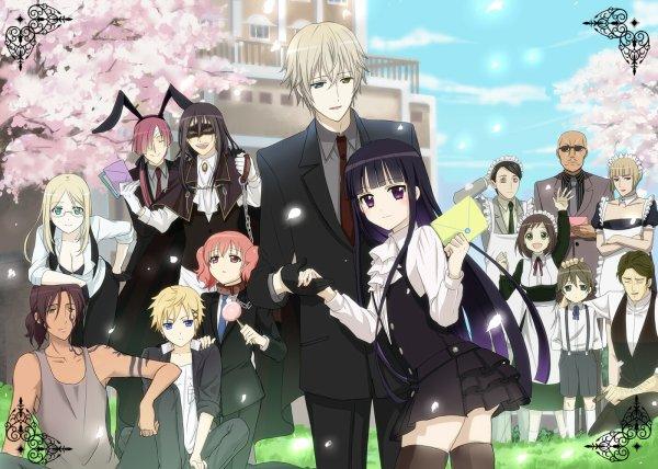 L 'anime du moment est ino x boku ss (secret service en français)