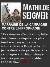 Soutient à la fondation Brigitte Bardot
