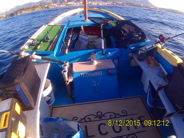 Le 09 Octobre 201 en bateau
