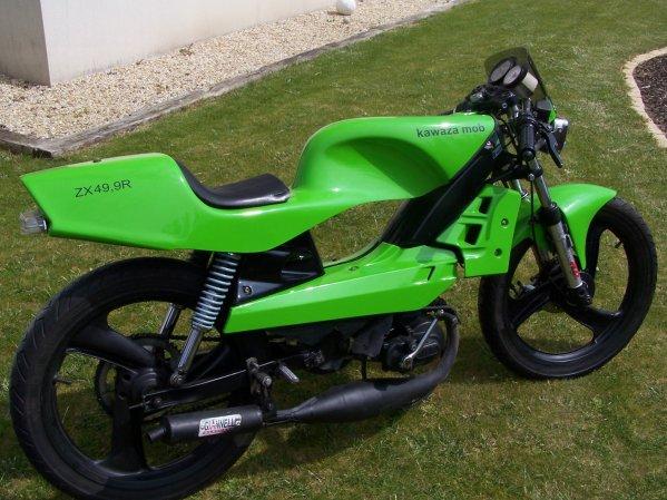 Une belle verte