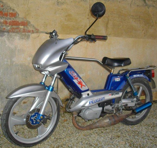 Quelques modifs sur la SPX = virées les pompes à vélo