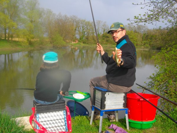 Un après-midi pêche avec ma fille