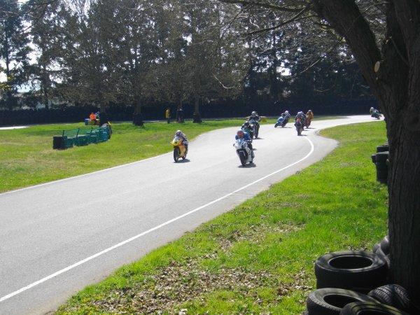 Quelques photos assez réussies de la course