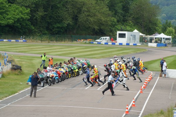 La course d'endurance Creusot 2012