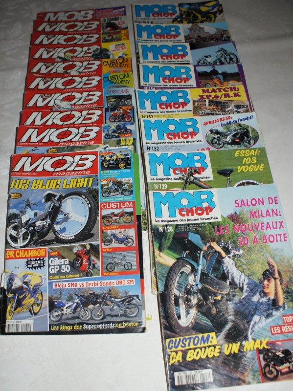 Des magazines en trop