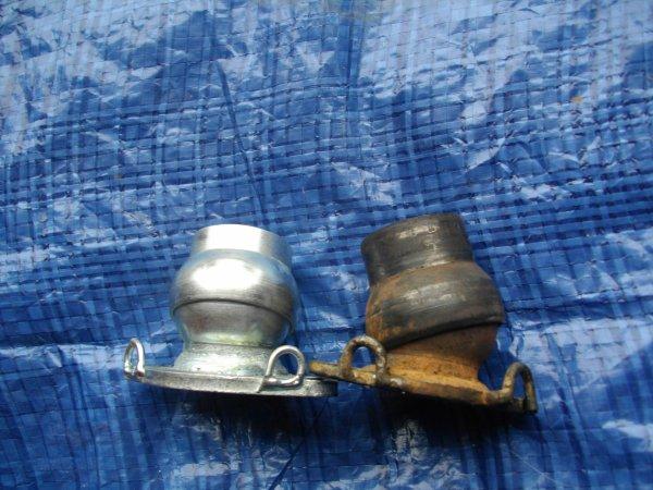 Finitions du pot POLINI EVO de scoot adapté à un 103